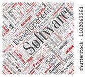 vector conceptual software...   Shutterstock .eps vector #1102063361