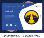 quality one page pack wolf...