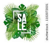 white vertical frame and sale... | Shutterstock .eps vector #1102072031