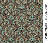 seamless pattern based on... | Shutterstock .eps vector #1102072904