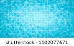 swimming pool bottom caustics... | Shutterstock .eps vector #1102077671