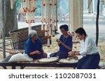 bangkok  thailand  april 13 ... | Shutterstock . vector #1102087031