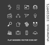 modern  simple vector icon set...   Shutterstock .eps vector #1102104971