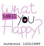 stylish trendy slogan tee t...   Shutterstock .eps vector #1102123889
