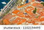 kotor  montenegro. beautiful...   Shutterstock . vector #1102154495