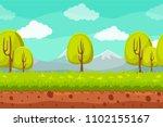 vector seamless landscape...
