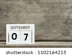 white block calendar present... | Shutterstock . vector #1102164215