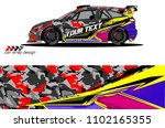 car livery graphic vector....   Shutterstock .eps vector #1102165355
