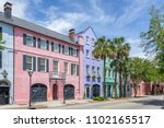 Rainbow Row Charleston South...