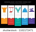 5 vector icons such as beef ... | Shutterstock .eps vector #1102172471