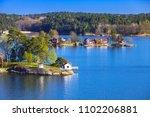 Rural Swedish Landscape With...