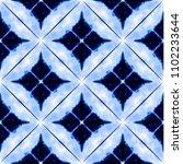 vector tie dye shibori print ... | Shutterstock .eps vector #1102233644