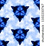 vector tie dye shibori print... | Shutterstock .eps vector #1102233767