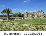 paris  france   may 8  2018 ... | Shutterstock . vector #1102253051