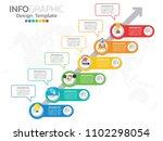 infographic template design...   Shutterstock .eps vector #1102298054