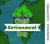 illustration of world... | Shutterstock .eps vector #1102344401