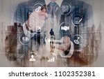 business process management... | Shutterstock . vector #1102352381