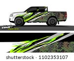 truck livery graphic vector for ... | Shutterstock .eps vector #1102353107