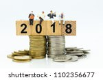 miniature people  businessman... | Shutterstock . vector #1102356677