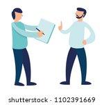 vector flat illustration.... | Shutterstock .eps vector #1102391669