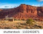 american southwest desert... | Shutterstock . vector #1102402871