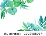 greeting card with place for...   Shutterstock . vector #1102408097