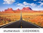 Monument Valley  Arizona  Usa...