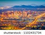 phoenix  arizona  usa downtown...   Shutterstock . vector #1102431734
