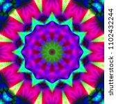 psychedelic background....   Shutterstock . vector #1102432244