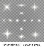 glow light effect. star burst... | Shutterstock .eps vector #1102451981