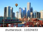 The High Rise Buildings In The...