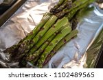 asparagus and squash green... | Shutterstock . vector #1102489565