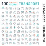 set of vector line icons  sign... | Shutterstock .eps vector #1102490639