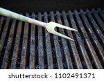 grill utensils tools fork tongs ... | Shutterstock . vector #1102491371