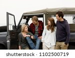 image of road trip | Shutterstock . vector #1102500719