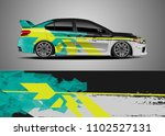 car decal vector  graphic... | Shutterstock .eps vector #1102527131