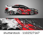 car decal vector  graphic... | Shutterstock .eps vector #1102527167