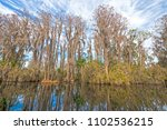 colorful and calm waters in a... | Shutterstock . vector #1102536215