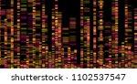 big genomic data visualization  ... | Shutterstock .eps vector #1102537547
