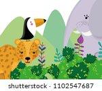 cute wildlife animals cartoons