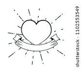 heart hand draw   Shutterstock .eps vector #1102553549