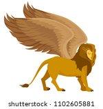 giant mythology fantastic... | Shutterstock .eps vector #1102605881