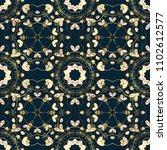 antique golden repeatable... | Shutterstock .eps vector #1102612577