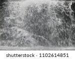 white water splashing. heavy... | Shutterstock . vector #1102614851