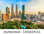kuala lumpur  malaysia    may...   Shutterstock . vector #1102619111
