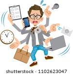 creator like men panicking too... | Shutterstock .eps vector #1102623047
