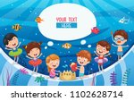 vector ilustration of summer... | Shutterstock .eps vector #1102628714