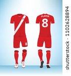 soccer jersey or football t...   Shutterstock .eps vector #1102628894