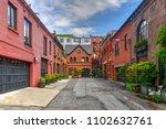 grace court alley in brooklyn... | Shutterstock . vector #1102632761