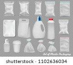 big set of polypropylene... | Shutterstock .eps vector #1102636034